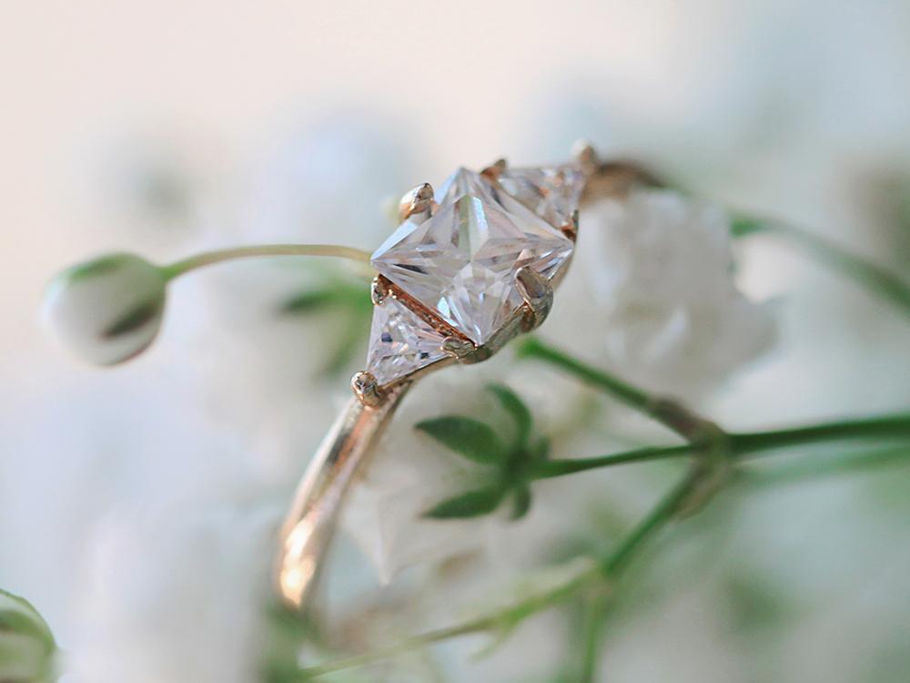 婚約指輪 普段使い ファッション